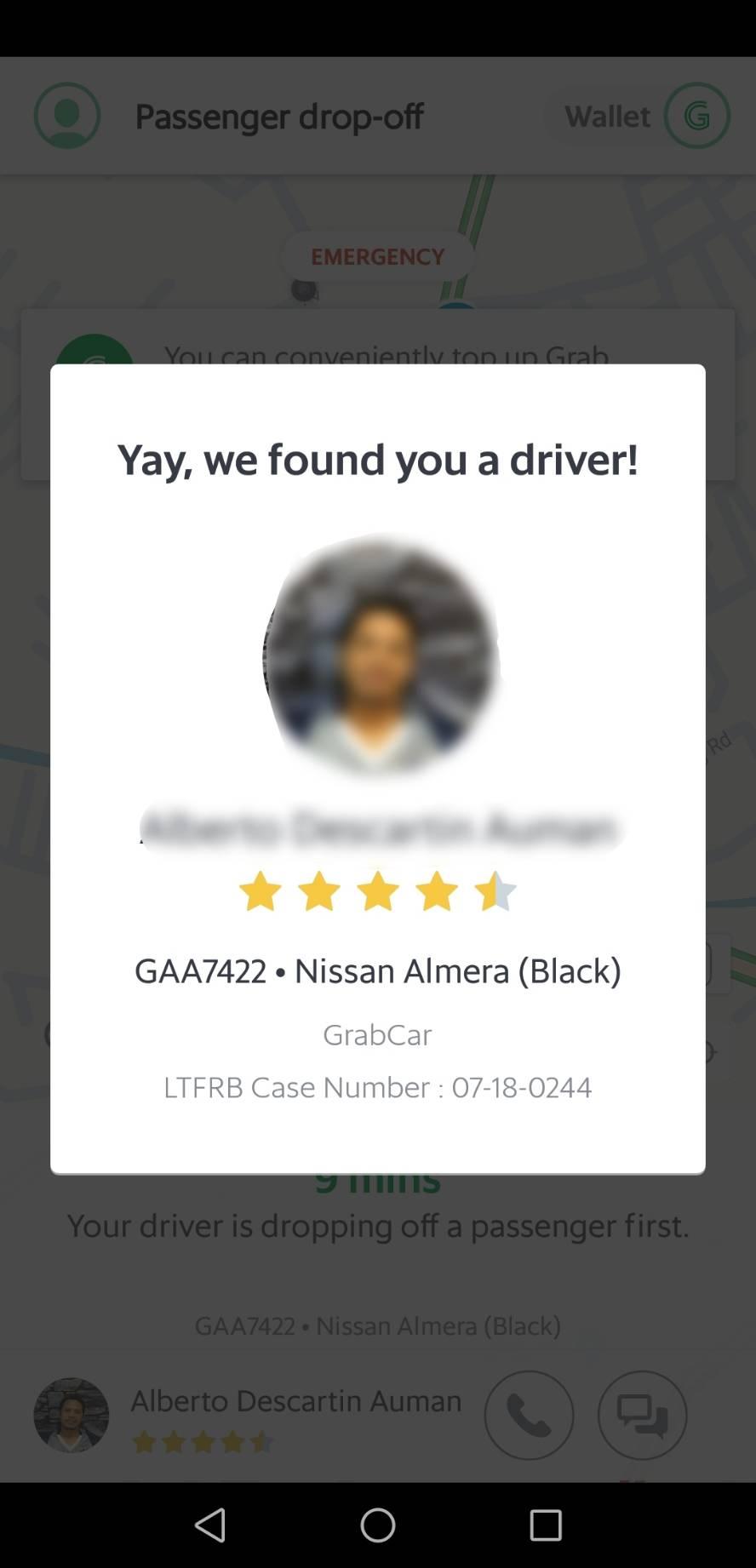 フィリピン タクシー アプリ 7