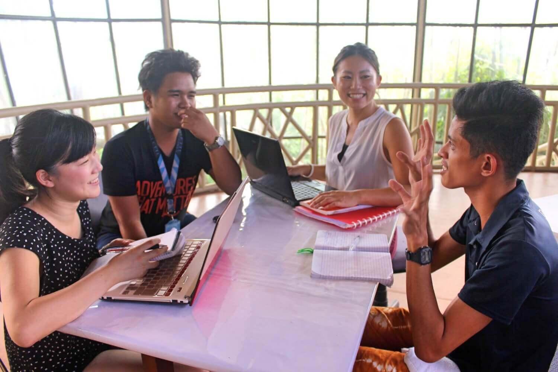 ビジネス英語で異文化協働ができるインターンシップ